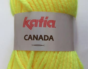 Wool Katia Canada yellow