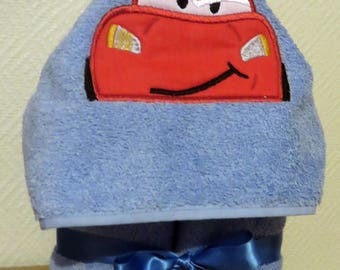 Shower hooded towel
