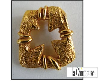 CHRISTIAN LACROIX BROOCH / brooch Christian Lacroix / Vintage jewelry / Gift for her / Made in France.