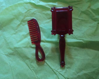 Vintage Vogue Ginny Doll Comb & Hair Brush