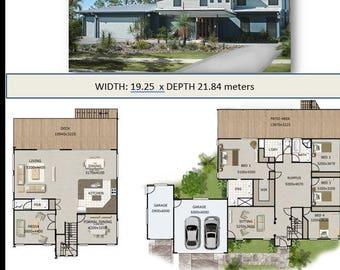 150m2 3 bed 2 bathrooms hi set design high set house