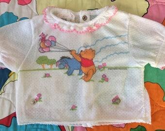Winnie the Poo Walt Disney Baby Girl Vintage Shirt