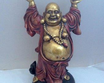 Laughing Buddah Smiling Buddha Buddah  Buddai Vintage  Buddism Taoism Shinto LAY BY AVAILABLE ( Ref no. A240 )
