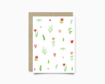Greeting card - Secret Garden