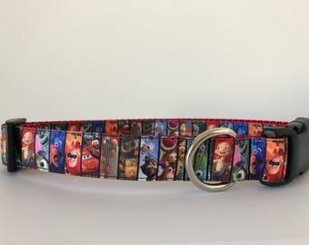 Disney Pixar Dog 1 inch Collar