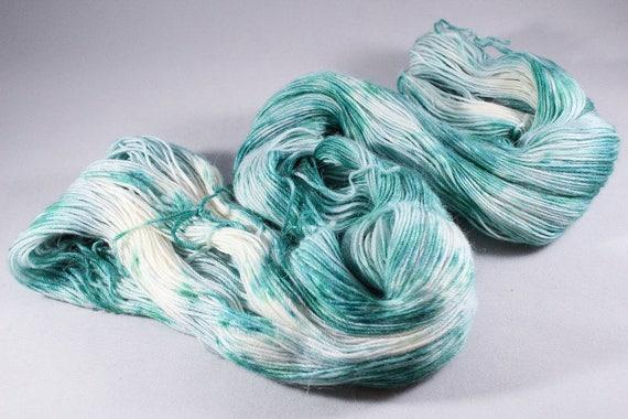 Hand Dyed Alpaca/Merino/Nylon Blend Sock Yarn - Eskimo