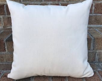 Throw Pillow Blanks : Blank throw pillow Etsy