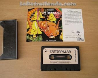 computer game sinclair ZX SPECTRUM 16k - Catterpillar vintage