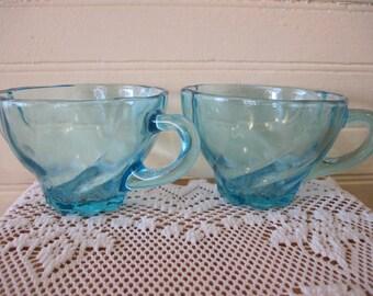Pair of Hazel Ware Capri Cups - Item #1391