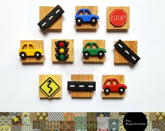 Car Fridge Magnet Set