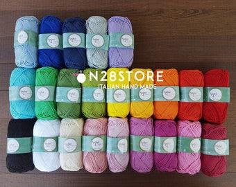 Anchor Creativa, 100% cotton, 125 mt, crochet 3-3,5 beautiful colors