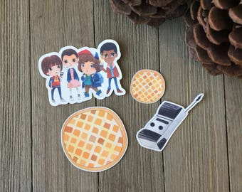 Stranger Things Die Cut Pack