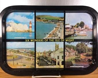 Six Wonders of the Isle of Wight Metal Tray