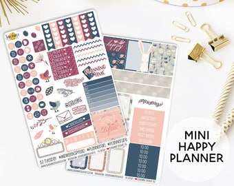Happy Spring Kit Planner Sticker Kit | Made to fit the Mini Happy Planner