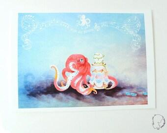 Mermaid voices - art Print-art print