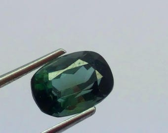 1.70 Carat Green Color Loose Gemstone Tourmaline @ Afghanistan10*7*6.5mm (12)