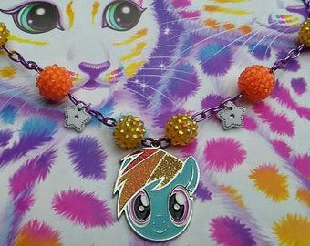 My Little Rainbow Dash Necklace