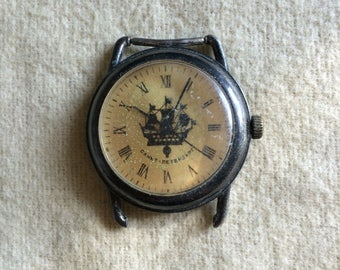 Very Rare St. Saint Petersburg Sankt-Petersurg Watch Soviet USSR Vintage