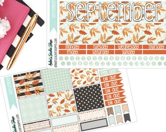 Leaves September Monthly Kit for ECLP