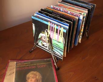 Vintage Vinyl rack.