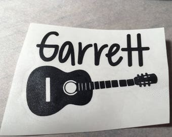 Guitar Decals Etsy - Custom vinyl decals for guitars