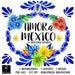 Mexican Wedding, Talavera Mexicana, Colorful Mexican Flolk Art, Clipart PNG, DIY projects, Wedding invitations, Flores Mexicanas,