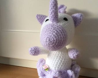 Crocheted Unicorn