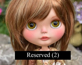 RESERVED - OOAK Custom Blythe Doll Tylah