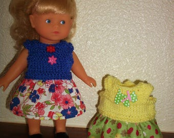 2 outfits for doll Corolla corolline - A set-mini