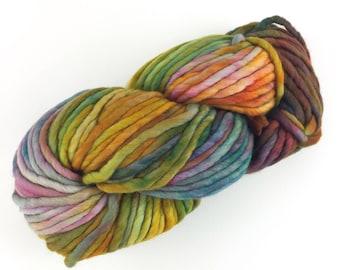 Malabrigo Rasta Diana 886 Merino Wool Super Bulky Kettle Dyed Yarn Merino Yarn Hand Dyed Merino Soft Rainbow Colors Hand Painted Merino 90y