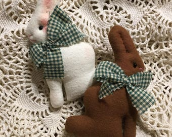 Bunny Photo Prop Posing Pillow/ Bunny Posing Stuffie/ Rabbit Photo Prop