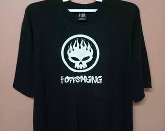 VINTAGE THE OFFSPRING American Punk Rock rare original Tour Promo Concert by giant shirt