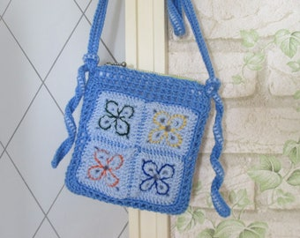 Shoulder bag crochet bag small Minibag girl