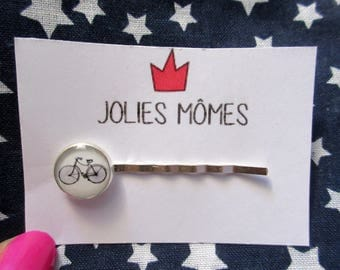 BICYCLE HAIR CLIPS - Bike Hair Clips - Hair Clips - Everyday Hair Clips - Hair Clip For Girls - Piggy Tail