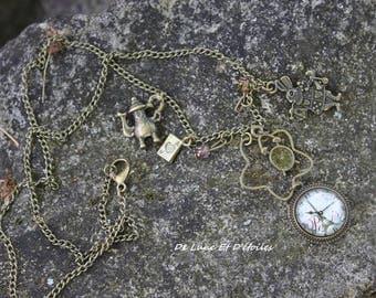 long necklace Alice in Paris