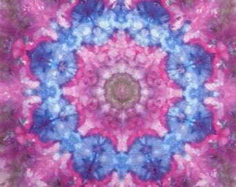 tie dye tapestry wall hanging purple blue pink psychedelic trippy