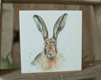 Lily Hare Card