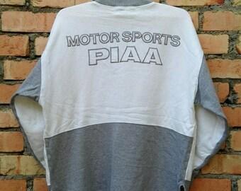 OFF 15% Rare!!! PIAA Motor Sports Sweatshirt Pullover Zip