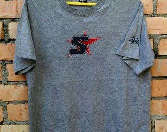 Rare!!! Stussy Skateboard T Shirt Large Size