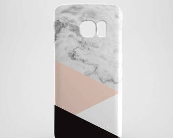 cute pink Marble Combo phone case for Samsung Galaxy S8, Samsung Galaxy S8 Plus, Samsung galaxy note 8, Samsung galaxy note 5, phone covers
