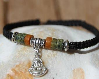 shamballa bracelet with Jasper bead