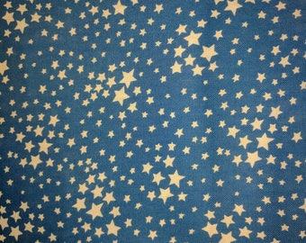 Storybook Patriotic blue stars.