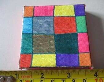 Squares Water Colour
