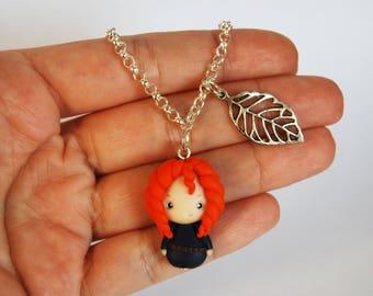 OUTLET! Sale! Simple bracelet Rebel fimo and leaf