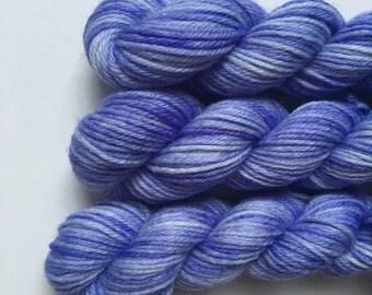 """Deluxe sock yarn 1 x 10 g mini skein """"Viola"""""""
