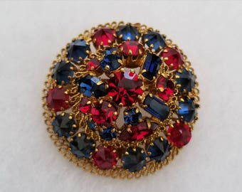 Made In Austria Blue & Red Pin