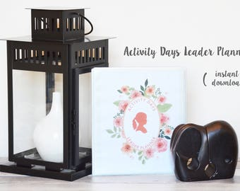 LDS Activity Days Leader Planner 2017-2018 [Fillable PDF]