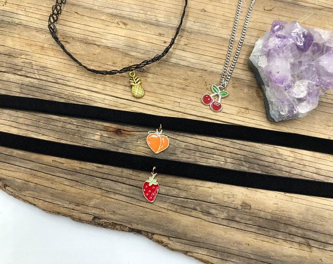 FRUITY SET: 4pc jewelry set