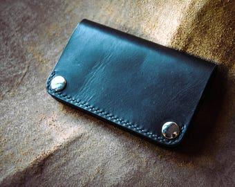 Leather Trucker wallet sale