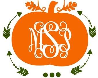 pumpkin monogram svg, svg pumpkin monogram, pumpkin svg, svg pumpkin, monogram svg, svg monogram, fall svg, svg fall,harvest svg,svg harvest